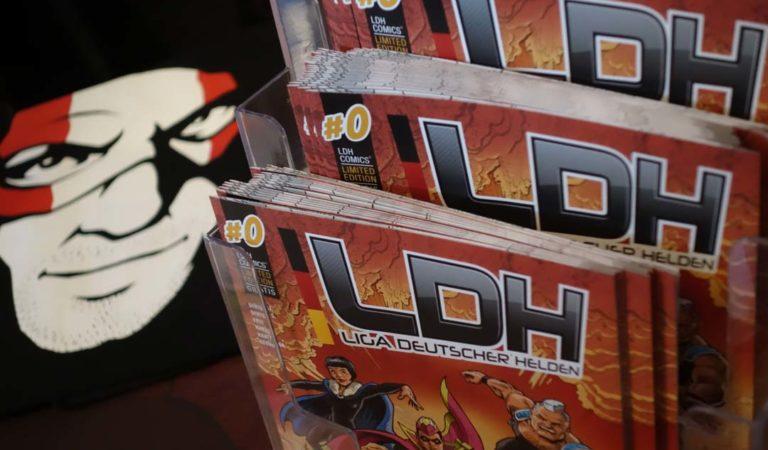 Liga deutscher Helden beim Comicfestival München