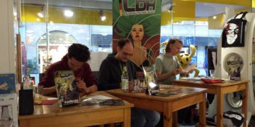 Launchparty LDH #1 @Ultra Comix Nürnberg