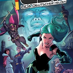 Superhelden Comic Liga deutscher Helden